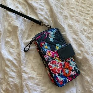 Vera Bradley wristlet floral